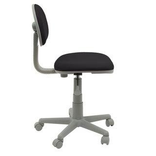 Studio Designs Black/Gray Deluxe Task Chair