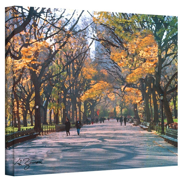 George Zucconi 'Central Park Wrapped Canvas
