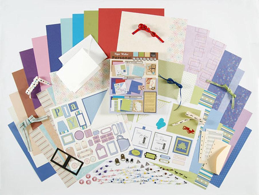 Personal Shopper March 2007 Ice Cream & Friends Scrapbooking Set