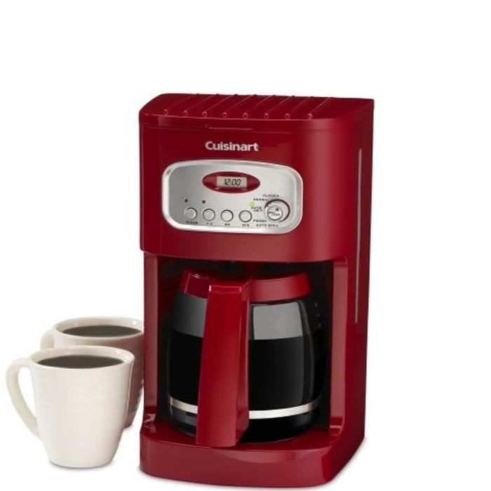 Cuisinart DCC-1100 Red12-cup Programmable Coffee Maker - Overstock Shopping - Great Deals on ...