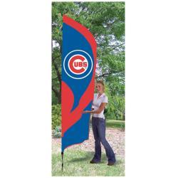 Chicago Cubs Tall Nylon Team Flag