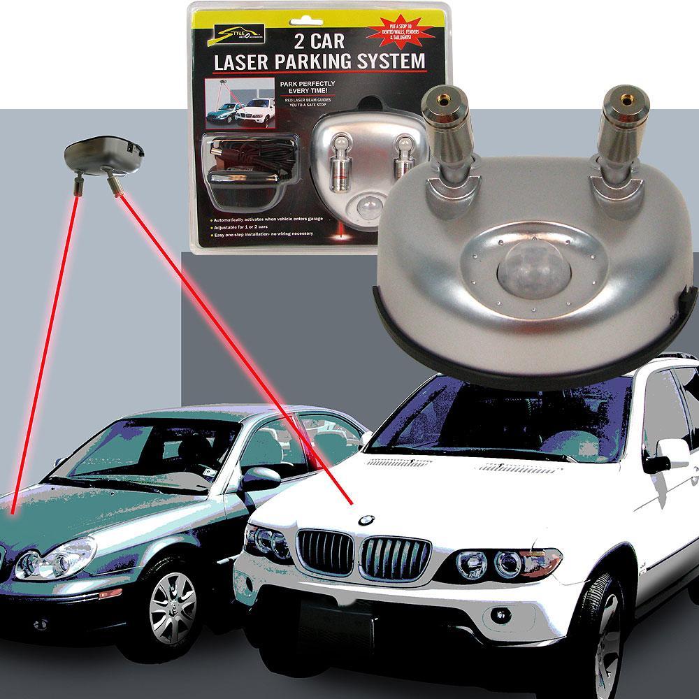 As Seen on TV 2-car Garage Laser Parking System