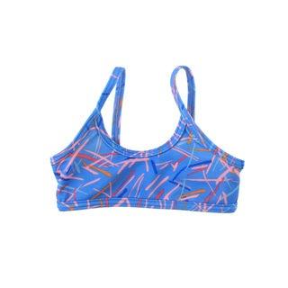 American Apparel Girls' Nylon Tricot Bikini Top