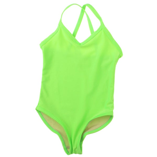 American Apparel Girls' One-Piece Bathing Suit