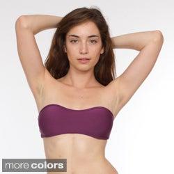 American Apparel Women's Nylon-tricot Bandeau Bikini Top