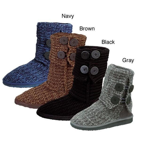 I-Comfort Women's 'Cupcake' Sweater Boots
