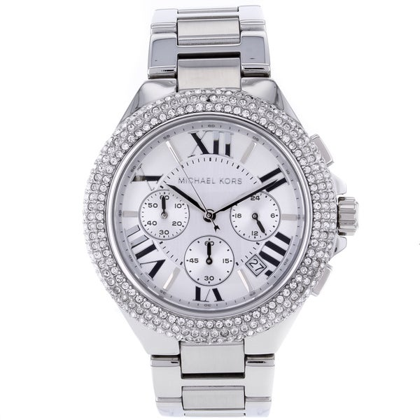 Michael Kors Women's MK5634 'Camille' Crystal-Accented Watch