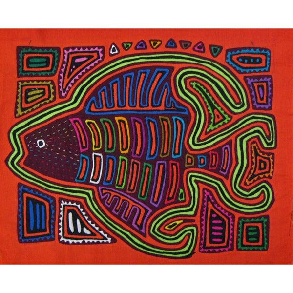 Fabric 'Angel Fish' Tapestry (Panama)