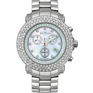 Joe Rodeo Men's 'Junior' 8ct Diamond Watch with Interchangeable Straps