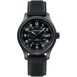 Hamilton Men's HML Automatic Khaki Field Watch