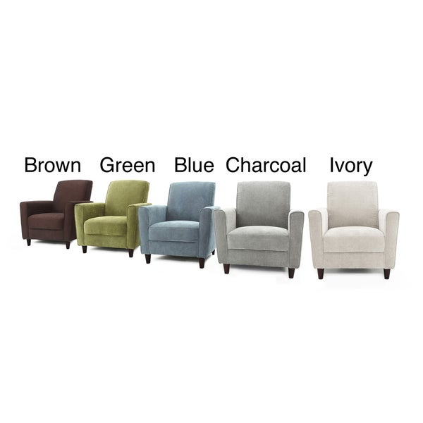 Enzo Solid-colored Accent Chair