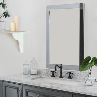 ABBYSON LIVING Omni Rectangle Wall Mirror