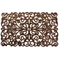 Prestige Natural Rubber Bronze Finish Door Mat (18 x 30)