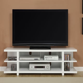 Altra 60 Inch Contemporary Reversible Back Panel TV Stand