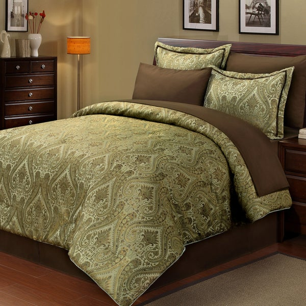Stanford 8-piece Bed in a Bag with Sheet Set