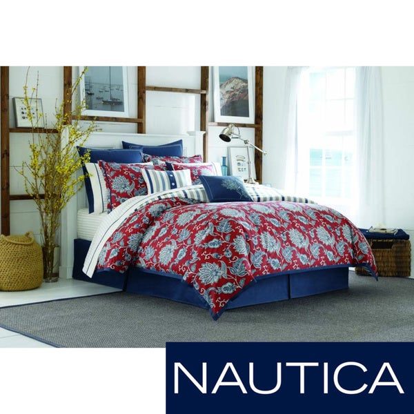 Nautica Tisbury 4-piece Cotton Comforter Set