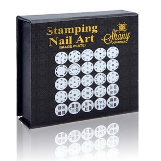 Shany 25-piece Nail Art Image Plates Stamp Set