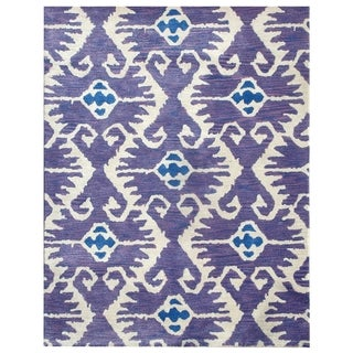 Safavieh Handmade Wyndham Lavender New Zealand Wool Rug