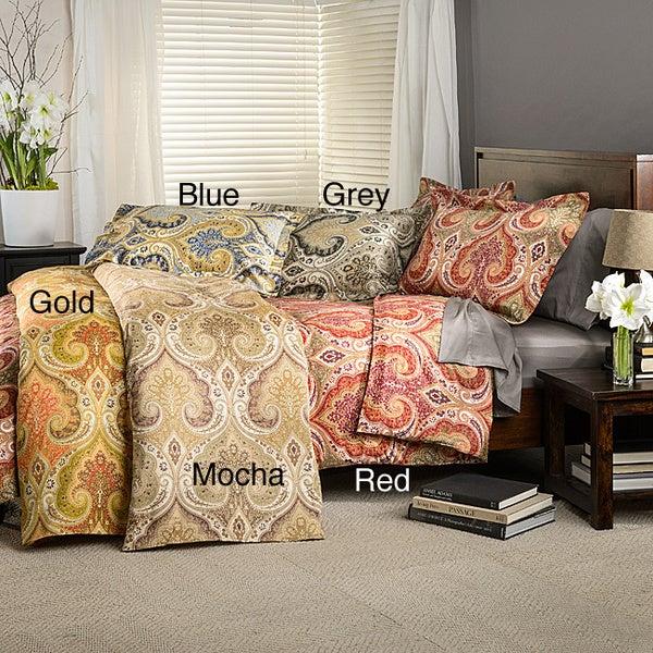 Milano Cotton Duvet Cover Set