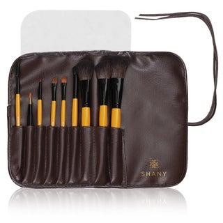 Shany Urban Gal 9-piece Natural Makeup Brush Set