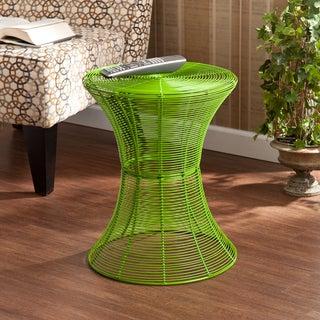 Upton Home Kayden Indoor/ Outdoor Green Metal Accent Table
