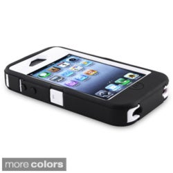 INSTEN Hybrid Phone Case Cover for Apple iPhone 4/ 4S