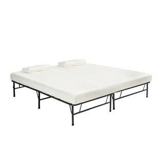 Pragma Bi-Fold Full Size Bed with Memory Foam Mattress