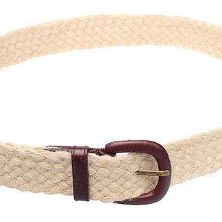 American Apparel Unisex Jute and Leather Belt