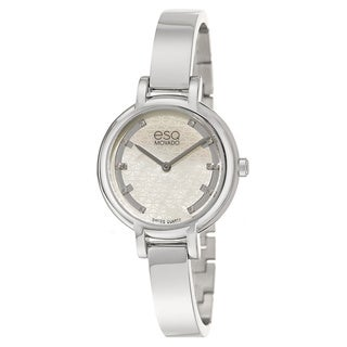 ESQ By Movado Women's 07101405 'Contempo' Diamond Stainless Steel Watch