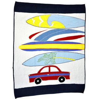 Cottage Home Catch A Wave Baby Quilt