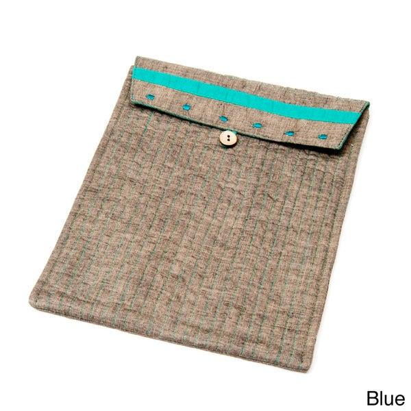 Hand-stitched iPad Sleeve (India)