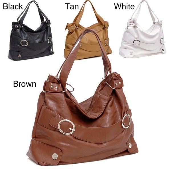 Dasein Double-Handle Hobo Bag