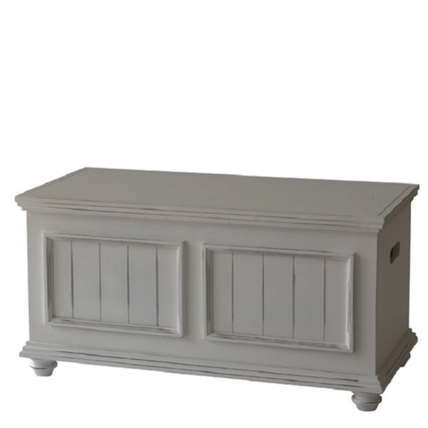 Notting Hill Storage Trunk Wood Top