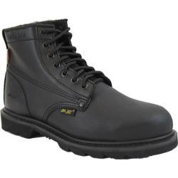 Men's AdTec 1400 Uniform Boots 6in Steel Toe Black
