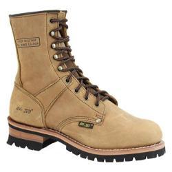 Men's AdTec 1427 Logger Boots 9in Brown