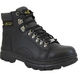 Men's AdTec 1980 Hiker Boots 6in Steel Toe Black