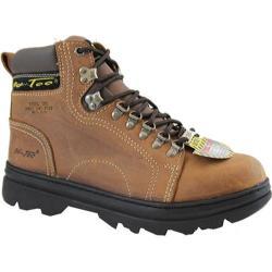 Women's AdTec 2977 Work Boots 6in Steel Toe Brown
