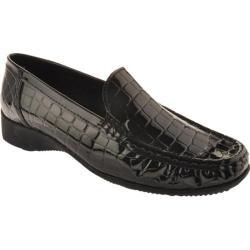 Women's Ara Ann 60147 Black Croco