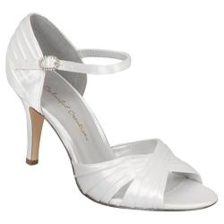 Women's Colorful Creations Brooke White Satin