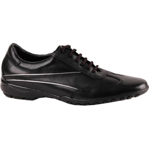 Men's GooDoo Sporty 006 Black/White Calf