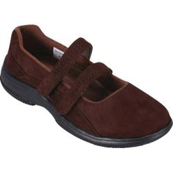 Women's Propet Bilite Walker Brown Velour
