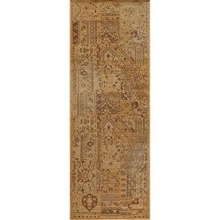 "Vintage Boaz Beige New Zealand Wool Rug (1'8"" x 2'8"")"