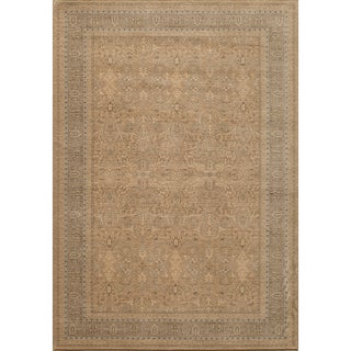 Mirage Tabriz Mushroom Beige Power-Loomed Rug (2' x 3')