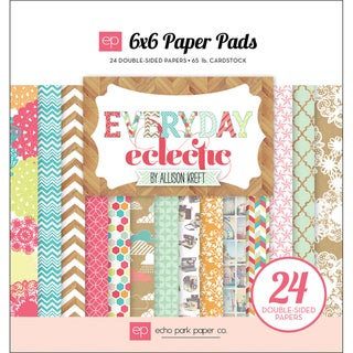 Everyday Eclectic Cardstock Pad 6