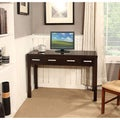 Soho Dark Exeter Brown 2-drawer Desk