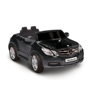 Mercedes Benz E550 Black 1-seater Riding Toy