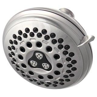 Waterpik Brushed Nickel 7-setting Showerhead