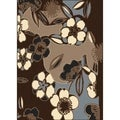 Artisan Flowers Area Rug