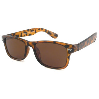 Urban Eyes Retro Polarized Rectangular Sunglasses