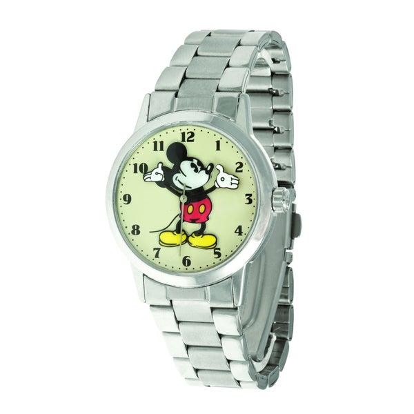 Disney Ingersoll Women's Stainless-Steel Mickey Mouse Watch
